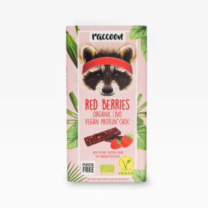 Racoon-Schokolade-Red-Berries
