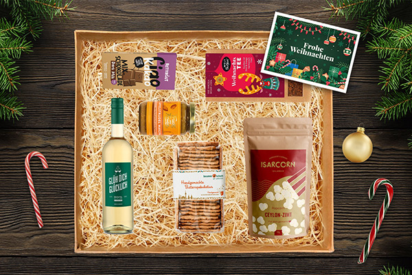 nachhaltiges Weihnachtsgeschenk Mitarbeitergeschenke